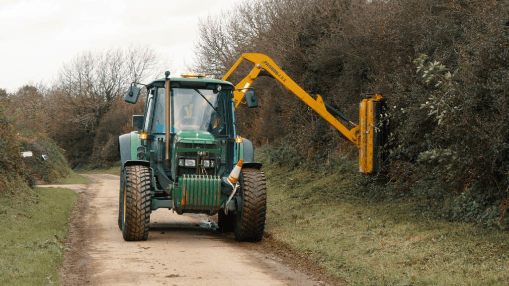 Tractor and Industrial training